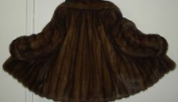 Dennis Basso Russian Sable Fur Jacket Size 4-6 Excellent Condition Free Shipping