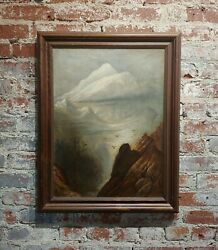 Thomas Hill -northern California Landscape - Oil Painting -c1900s