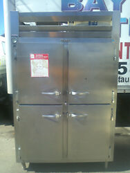 Traulsen Rht232nut 46 Cu. Ft. Two Section Narrow Reach In Refrigerator
