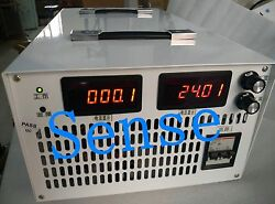 New 6000w 0-250vdc 0-24a Output Adjustable Switching Power Supply With Display