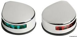 Osculati Evolved Polished Ss Abs Body Low Consumption Led Navigation Lights Pair