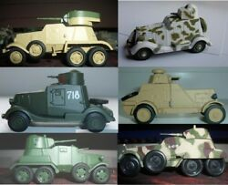 1/72 FAI or BA-27 or -20 or -11 or -10 or -6 WWII Soviet Armored Vehicle DieCast
