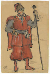 OPERA  Original costume design by the important Russian artist Korovine in all