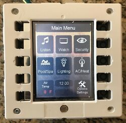 Fully Tested Crestron Ct-1000 In-wall Touch Panel