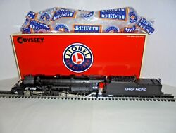 LIONEL 38065 2-8-8-2 UNION PACIFIC MALLET STEAM LOCOMOTIVE TEST RUN NICE BOXED