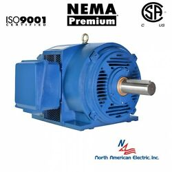 125 hp electric motor 404TS405TS 3 Phase 3575 rpm Open Drip Proof  460 volt