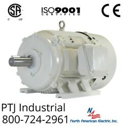125 HP Electric Motor 447T 3 Phase 1200 RPM Oil Well Pump Design D TEFC