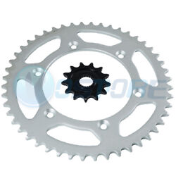 Front Rear Sprocket For 2005-2016 Yamaha Yz 125 2001-2004 Yz 250