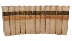 George Grote History of Greece 12 Vol Set Vellum Gilt Bindings Ancient History