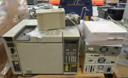 Hp 5890 Gas Chromatograph System With 7673a Automatic Injector