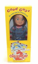 Chucky 12 Dream Rush Good Guy Doll Childs Play W/hat And Patch Toy Figure Unopen