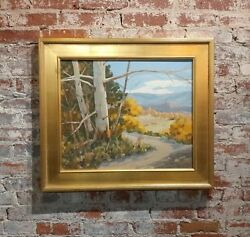 Victor Matson - California Sycamore Trees - Beautiful Oil Painting C1930s