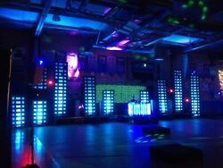 DJ CLUB LED Light Pixel Tube with basic DMX Controller System Good Used working