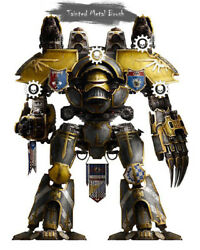Forge world Warhammer The Horus Heresy Mars Pattern Warlord Titan **COMMISION**