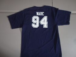 Blue Dallas Cowboys Nfl Football 94 Demarcus Ware Youth Xl Jersey T-shirt Nice