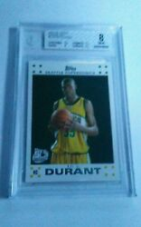 2007/08 Topps White Kevin Durant Rookie Card
