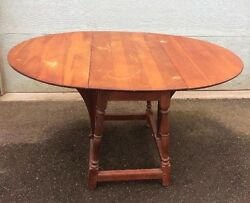 Drop Leaf Butterfly Table 1900and039s Flints Fine Furniture N.y. Delivery Available