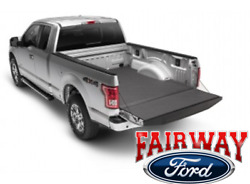 17 Thru 21 F250 F350 Super Duty Oem Ford Padded Impact Mat Liner 6-3/4and039 Bed New