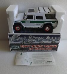 Brand New In Box Nib 2004 Hess Sport Utility Vehicle And Motor Cycles Toy Truck
