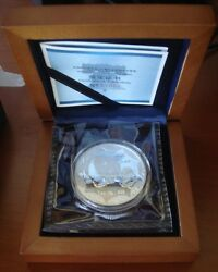 2012 Panda Philadelphia Ana Worlds Fair China Silver 1oz Proof With Box Case Coa