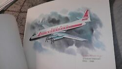 United Airlines Collector Nixon Galloway Print Litho Vickers Viscount Capital