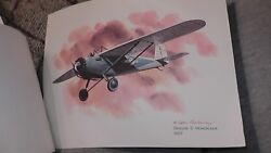 United Airlines Collector Nixon Galloway Print Litho Breese 5 Monoplane 1927 Usa