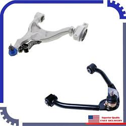 2Pcs Suspension Control Arm Front Right Upper&Lower Fit 11-13 Infiniti G37 Base