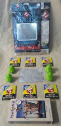 1985 Ralston Ghostbusters Cereal Box Bundle Lot W/ Vhs Cards Hologram And More