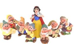 Disney Snow White And The Seven Dwarfs Figurines Produced By Schmid