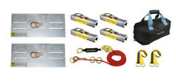 100and039 Standing Seam Roof Horizontal Lifeline System