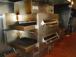 Middleby Marshall ps-360Q 2deck lincon impinger stacked gas pizza oven detroit