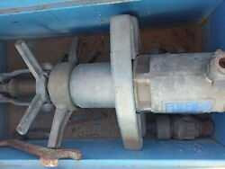 Mueller Hot Tap Machine W/ Box And Misc Pipe Line Tools- Gd Condition