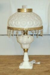 Fenton / Wright Moon And Star 27 In Mi 1000 Style Lamp -- Gtc