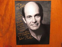 Alan  Rachins Signed 8 X 10 Black And White Photo Dharma And Greg/l. A. Law
