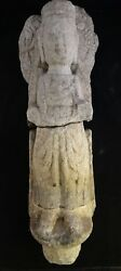 Rare Ancient Chinese Carved Stone Bodisatva.wei Or Sui Dyn. 4th -7th Ad.18 Tall