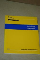 Ti Texas Instruments Tms320c64x Dsp Technical Overvew Book 9/2000 Spru395a