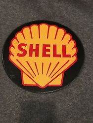 Shell Oil Logo Metal Collectible Wall Hanging Sign 11.5