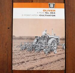Oliver Model 364 4 Row 3 Point Hitch Cultivator 1967