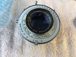 Goerz Artar 16 1/2 F9.5 Lens Coated In Ilex 4 Excellent Condition