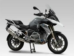 Yoshimura Japan Hepta Force Titanium Road Legal Exhaust End Can Bmw R1200gs Lc