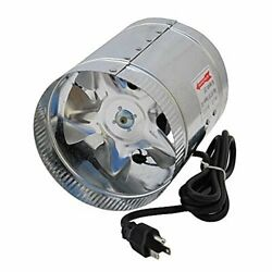 Air Duct Inline Hydroponic 6-Inch 240 CFM Booster Fan Air Cooler Ventilator New