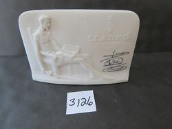 Lladro Collectors Society Sign 4 X 5 5/8 Inches 3126