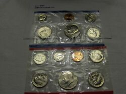 1981 Us Mint Set -- Brilliant Unc Coins In Cello-from The U.s.mint  E