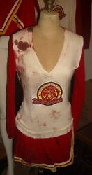 screen used Heroes Hayden Panettiere Claire Bennet Bloody cheerleader costume