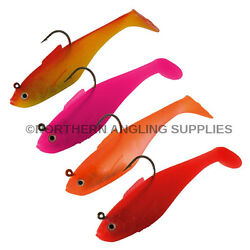 Sidewinder Super Holo And Solid Shads - All Colours - 4 Inch And 5 Inch