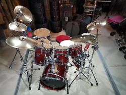 SONOR DESIGNER SERIES DRUMS BIRDSEYE MAPLE LIGHT