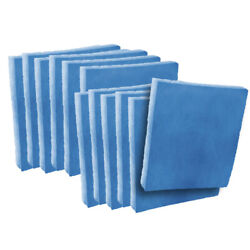 12 23-1/2 X 23-1/2 X 1 Filter Pads Blue / White Polysynthetic 2-stage Media