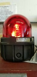Federal Signal 371-120r Industrial Warehouse Lumber Mill Aviation Beacon Light