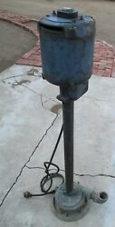 Vintage Deming Vertical Pump - Deming Model 4554 From 1950's Or 1960's Rare