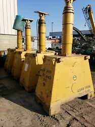 400 Ton Lift Systems 4 Post Rigging Gantry with Lifting Beams